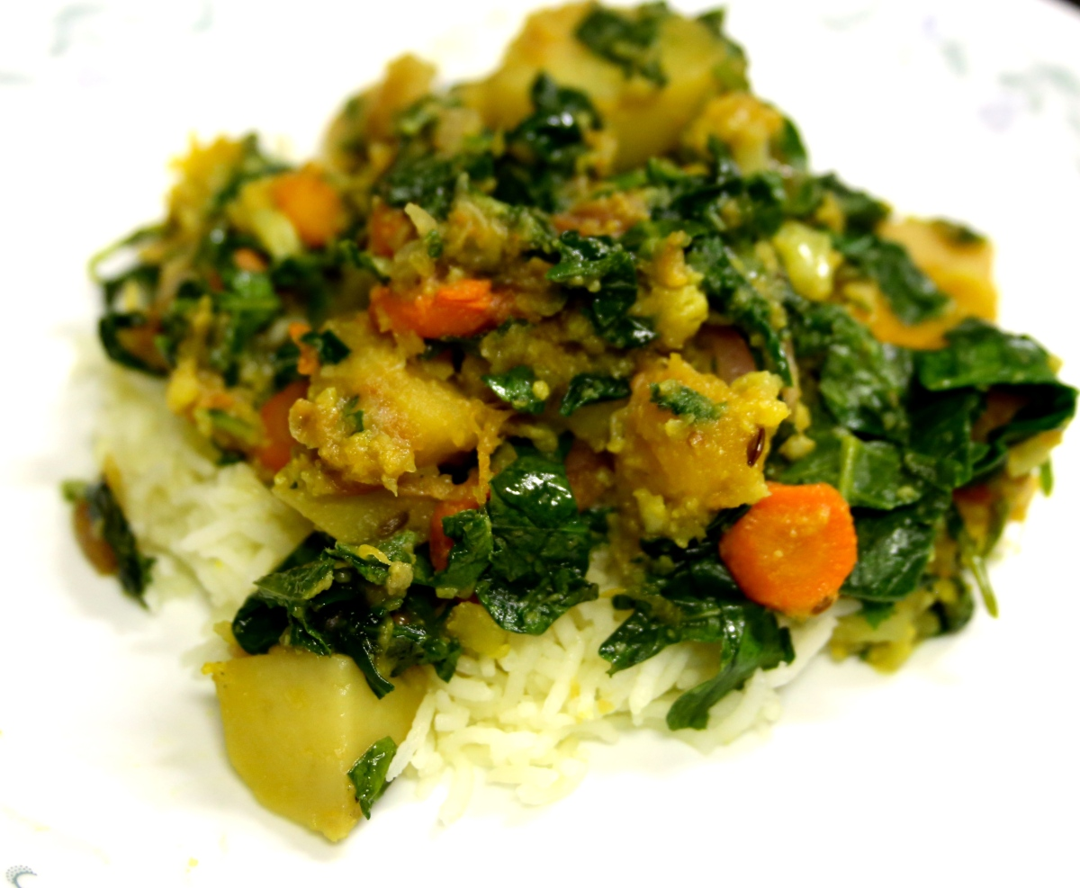 Mast-Mast Chorchori or Shaager Chorchori (Bengali Vegetable Stir-fry)
